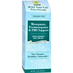 At Last Naturals Wild Yam Extra Strength Gel - 2 Oz