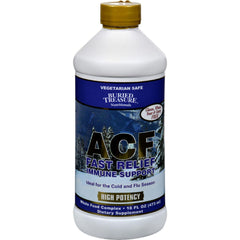 Buried Treasure Acf Fast Relief Formula - 16 Fl Oz