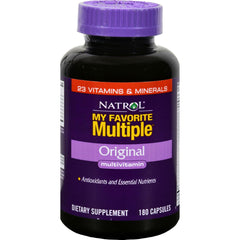 Natrol My Favorite Multiple Original - 180 Capsules