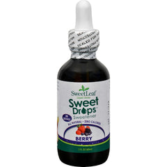 Sweet Leaf Liquid Stevia - Berry - 2 Oz