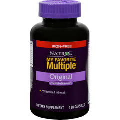 Natrol My Favorite Multiple Original Iron-free - 180 Capsules