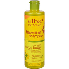 Alba Botanica Hawaiian Hair Wash Cocoa Butter Dry Repair - 12 Fl Oz