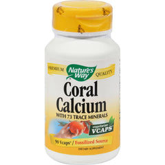 Nature's Way Coral Calcium With 73 Trace Minerals - 90 Vegetarian Capsules