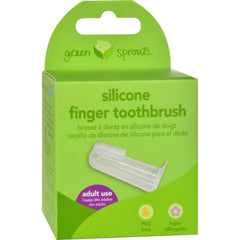 Green Sprouts Silicone Finger Toothbrush