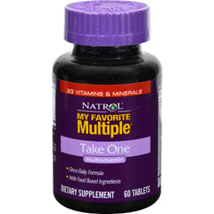 Natrol My Favorite Multiple Take One - 60 Tablets