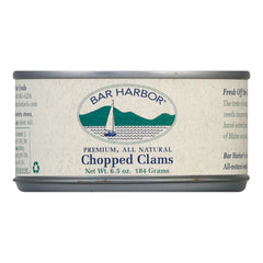 Bar Harbor Chopped Clams - Case Of 12 - 6.5 Oz.