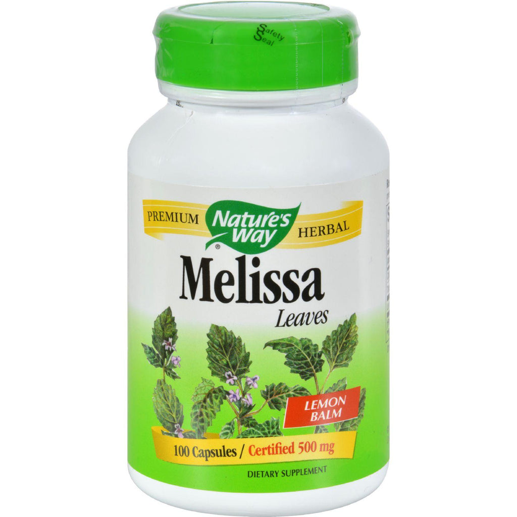 Nature's Way Melissa Leaves - 100 Capsules