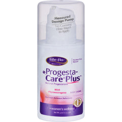 Life-flo Progesta-care Plus Cream For Women - 4 Oz