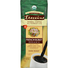 Teeccino Herbal Coffee French Roast Maya Dark Roast - 11 Oz - Case Of 6