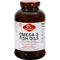 Olympian Labs Omega-3 Fish Oils - 1 G - 240 Softgels
