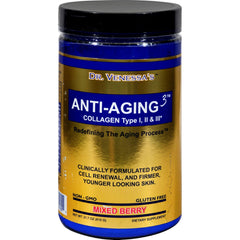 Dr. Venessa's Anti-aging 3 Collagen Type I And Ii Mixed Berry - 600 G