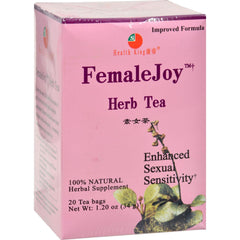 Health King Femalejoy Herb Tea - 20 Tea Bags
