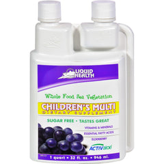 Liquid Health Children's Multi Sugar Free - 32 Fl Oz