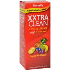 Detoxify Xxtra Clean Herbal Natural Tropical - 4 Fl Oz
