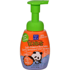 Kiss My Face Kids Hand Wash Self-foaming Orange U Smart - 8 Fl Oz