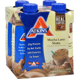 Atkins Advantage Rtd Shake Mocha Latte - 11 Fl Oz Each - Pack Of 4