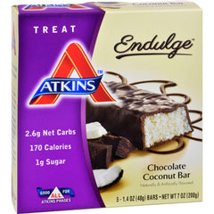 Atkins Endulge Chocolate Coconut Bar - 5-1.4 Oz