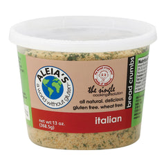 Aleia's Gluten Free Bread Crumbs - Italian - Case Of 12 - 13 Oz.