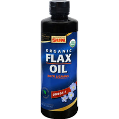 Health From The Sun Omega 3 Flax Lignan Gold - 16 Oz