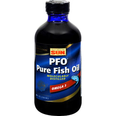 Health From The Sun Pfo Pure Fish Oil - 715 Mg - 8 Fl Oz