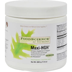 Foodscience Of Vermont Maxi-hgh - 10.83 Oz