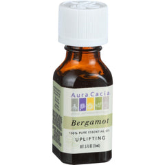 Aura Cacia Essential Oil - Bergamot Uplifting - .5 Oz