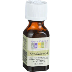 Aura Cacia Essential Oil - Sandalwood - .5 Oz