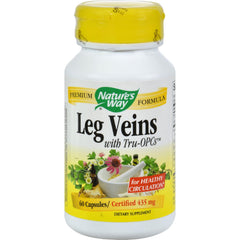 Nature's Way Leg Veins With Tru-opcs - 60 Capsules