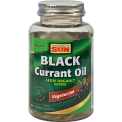 Health From The Sun Vegetarian Black Currant Oil - 60 Vegetarian Softgels