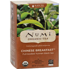 Numi Tea Organic Chinese Breakfast - Black Tea - 18 Bags