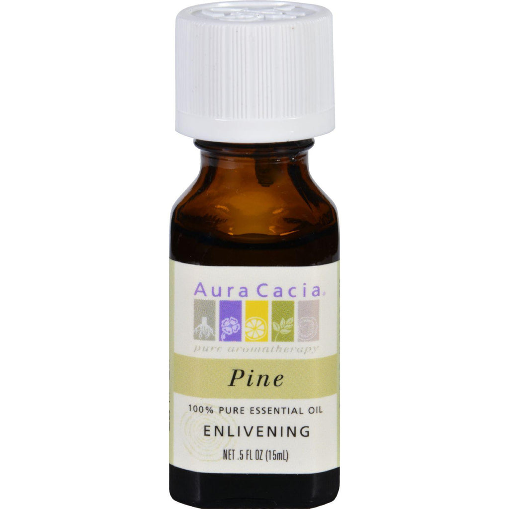 Aura Cacia Pure Essential Oil Pine - 0.5 Fl Oz