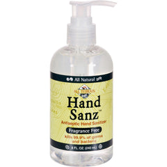 All Terrain All-natural Hand Sanz Fragrance Free - 8 Fl Oz