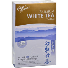Prince Of Peace Natural Premium Peony White Tea - 100 Tea Bags