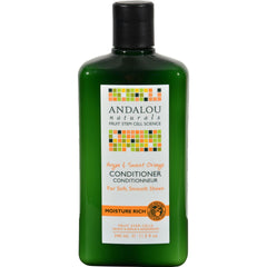 Andalou Naturals Moisture Rich Conditioner Argan And Sweet Orange - 11.5 Fl Oz