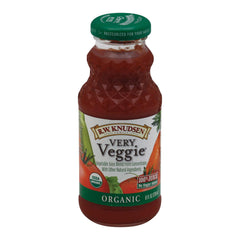 R.w. Knudsen Very Veggie - Organic - Case Of 24 - 8 Fl Oz.