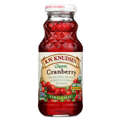 R.w. Knudsen Organic Cranberry Juice - Case Of 24 - 8 Fl Oz