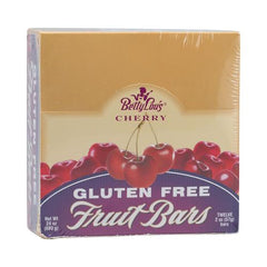 Betty Lou's Gluten Free Fruit Bars Cherry - 12 Bars - Case Of 12