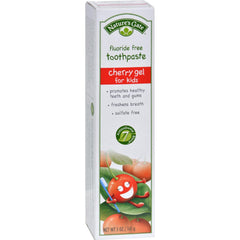 Nature's Gate Natural Toothpaste Gel For Kids Cherry - 5 Oz - Case Of 6