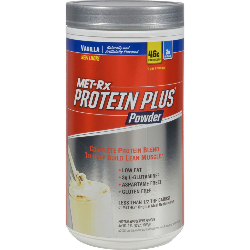Met-rx Protein Plus Powder Vanilla - 2 Lbs