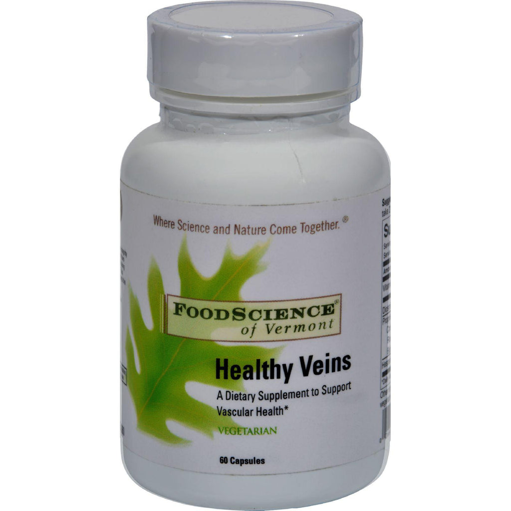 Foodscience Of Vermont Healthy Veins - 60 Vegetarian Capsules