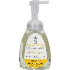 Deep Steep Organic Foaming Handwash Grapefruit Bergamot - 8 Fl Oz