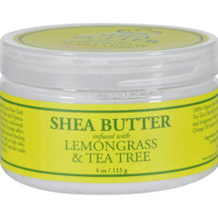 Nubian Heritage Shea Butter Infused With Lemongrass And Tea Tree - 4 Oz