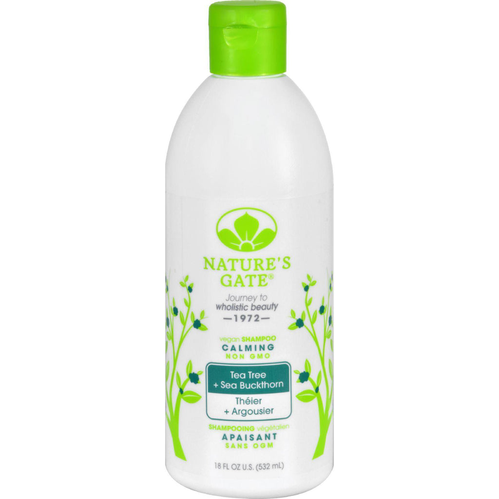 Nature's Gate Calming Shampoo Tea Tree - 18 Fl Oz