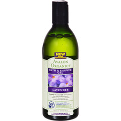 Avalon Organics Bath And Shower Gel Lavender - 12 Fl Oz