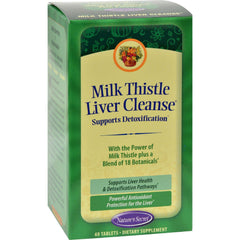 Nature's Secret Milk Thistle Liver Cleanse - 60 Tablets