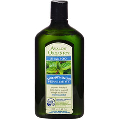 Avalon Organics Revitalizing Shampoo Peppermint Botanicals - 11 Fl Oz