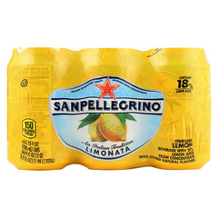 San Pellegrino Sparkling Water - Limonata Cans - Case Of 4 - 11.1 Fl Oz.