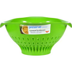 Preserve Large Colander - Green - Case Of 4 - 3.5 Qt