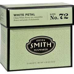 Smith Teamaker White Tea - White Petal - Case Of 6 - 15 Bags