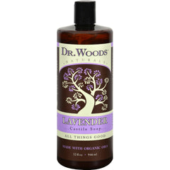 Dr. Woods Naturals Castile Liquid Soap - Lavender - 32 Fl Oz